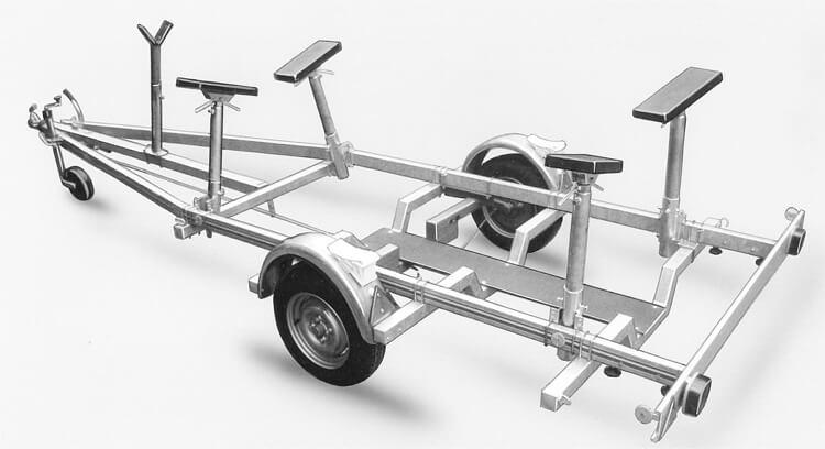 bootsanhaenger Typ G900-G1800 - Heku Fahrzeugbau