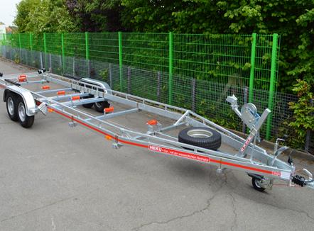 Bootsanhänger und Motorradanhänger Bielefeld - Heku Fahrzeugbau